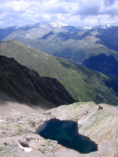 Foto: Andreas Koller / Wander Tour / Durch das Arntal auf die Weiße Spitze (2963 m) / Seenauge unterhalb der Schötter Lenke / 10.07.2007 17:50:51