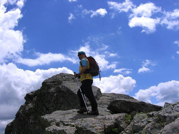 Foto: Andreas Koller / Wander Tour / Durch das Arntal auf die Weiße Spitze (2963 m) / Hoher Gang über den S-Grat der Weißen Spitze / 10.07.2007 17:42:37