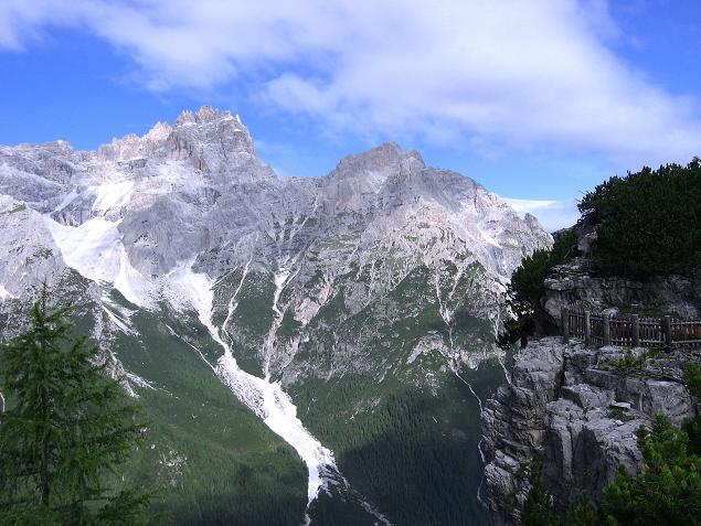 Foto: Andreas Koller / Klettersteig Tour / Rotwand-Klettersteig - Via ferrata Croda Rossa (2939 m) / Die Dreischusterspitze (3152 m) / 10.07.2007 18:49:48