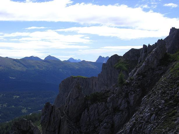 Foto: Andreas Koller / Klettersteig Tour / Rotwand-Klettersteig - Via ferrata Croda Rossa (2939 m) / Der Karnische Hauptkamm / 10.07.2007 18:49:04
