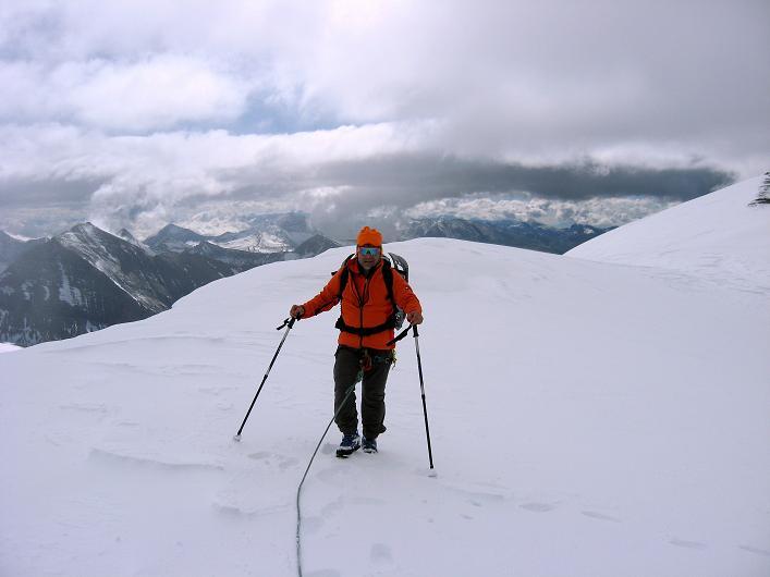 Foto: Andreas Koller / Wander Tour / Über zwei große Keese auf den Romariswandkopf (3511 m) / Im weiten Romariswandsattel / 10.07.2007 22:29:00