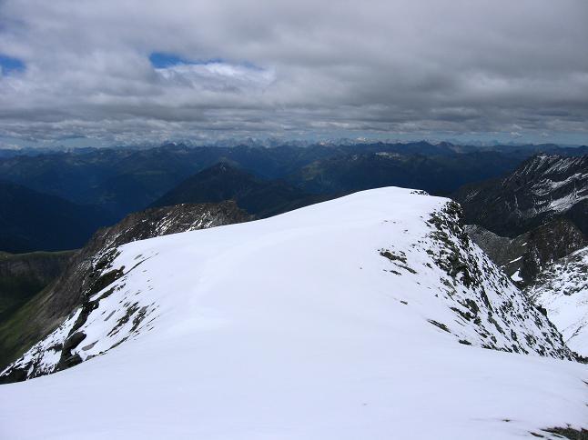 Foto: Andreas Koller / Wander Tour / Über zwei große Keese auf den Romariswandkopf (3511 m) / Blick vom Gramul nach S / 10.07.2007 22:22:32