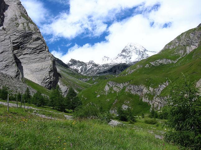 Foto: Andreas Koller / Wander Tour / Über zwei große Keese auf den Romariswandkopf (3511 m) / Großglockner (3798 m)  von der Lucknerhütte / 10.07.2007 22:18:27