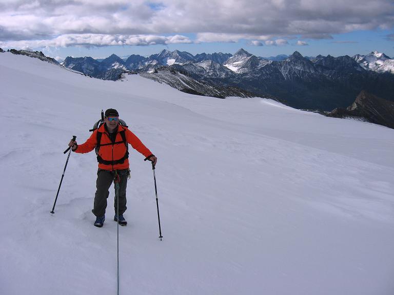Foto: Andreas Koller / Wander Tour / Über zwei große Keese auf den Romariswandkopf (3511 m) / Querung des Teischnitzkeeses / 10.07.2007 22:31:32