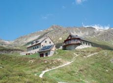 Foto: Tirol Werbung / Wander Tour / Adlerweg Etappe 26 - Durch die alten Bergmähder / Friedrichshafener Hütte / 26.07.2007 11:40:26