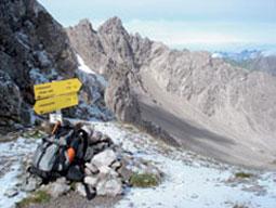 Foto: Tirol Werbung / Wander Tour / Adlerweg Etappe 27 - Über Jöcher und Sättel / Scharnitzsattel / 26.07.2007 11:41:14