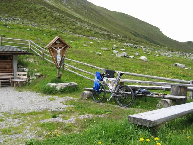 Foto: Jürgen Lindlbauer / Mountainbike Tour / Von Ried auf die Platzalpe (2181m)  / Auf der Platzalpe / 13.07.2007 15:58:07
