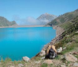 Foto: Tirol Werbung / Wander Tour / Adlerweg Etappe 47 - Ein schöner Speichersee im Hochgebirge / Speicher Finstertal / 26.07.2007 12:49:47