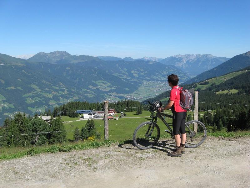 Foto: mucho / Mountainbike Tour / Rosenalm Kreuzjoch, Kreuzwiesen Zell / Rosenalm, Kellerjoch / 18.07.2007 16:15:36