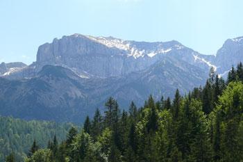 Foto: Tirol Werbung / Mountainbike Tour / Bike Trail Tirol Etappe Achensee - Kaiserhaus / Rofan / 20.07.2007 11:49:49