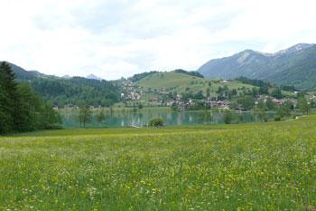 Foto: Tirol Werbung / Mountainbike Tour / Bike Trail Tirol Etappe Kaiserhaus - Kufstein / Thiersee / 20.07.2007 11:58:53