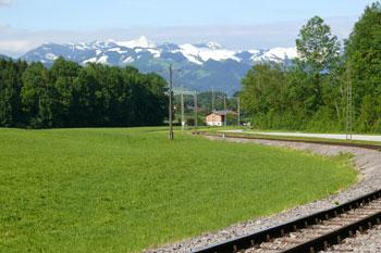 Foto: Tirol Werbung / Mountainbike Tour / Bike Trail Tirol Etappe Kaiserhaus - Kufstein / Vor Kiefersfelden / 20.07.2007 11:59:41