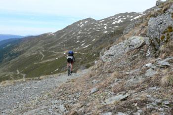 Foto: Tirol Werbung / Mountainbiketour / Bike Trail Tirol Etappe Lanersbach – Geiseljoch - Weerberg / Nafingalm / 23.07.2007 08:12:10