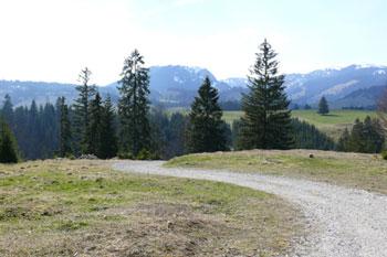 Foto: Tirol Werbung / Mountainbike Tour / Bike Trail Tirol Etappe Tannheim - Reutte / Blick ins Allgäu / 23.07.2007 08:28:32