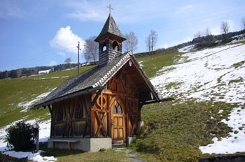 Foto: Tirol Werbung / Mountainbike Tour / Bike Trail Tirol Etappe Weerberg - Windegg / Grossvolderberg Kapelle / 23.07.2007 08:31:46