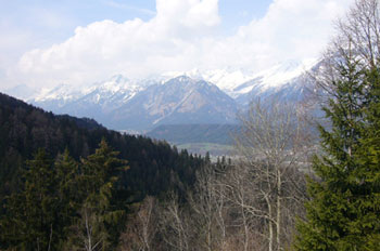 Foto: Tirol Werbung / Mountainbike Tour / Bike Trail Tirol Etappe Weerberg - Windegg / Vom Wattenberg ins Inntal / 23.07.2007 08:32:04