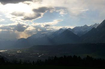 Foto: Tirol Werbung / Mountainbike Tour / Bike Trail Tirol Etappe Weerberg - Windegg / Von Weerberg ins Inntal / 23.07.2007 08:32:14