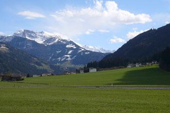 Foto: Tirol Werbung / Mountainbike Tour / Bike Trail Tirol Etappe Zell - Achensee / Bei Aschau / 23.07.2007 13:40:50