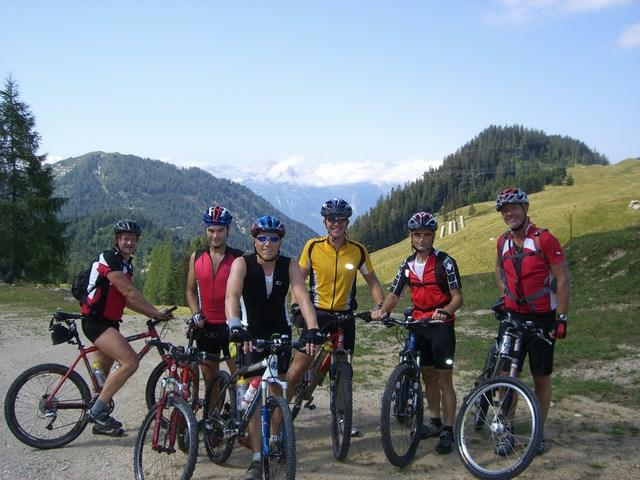 Foto: Jürgen Lindlbauer / Mountainbike Tour / Von der Postalm über die Thurnaualm nach Voglau und weiter auf die Pitscherbergalm / In der Nähe der Moosbergalm / 29.07.2007 13:06:22