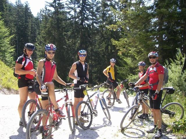 Foto: Jürgen Lindlbauer / Mountainbike Tour / Von der Postalm über die Thurnaualm nach Voglau und weiter auf die Pitscherbergalm / 29.07.2007 13:08:49
