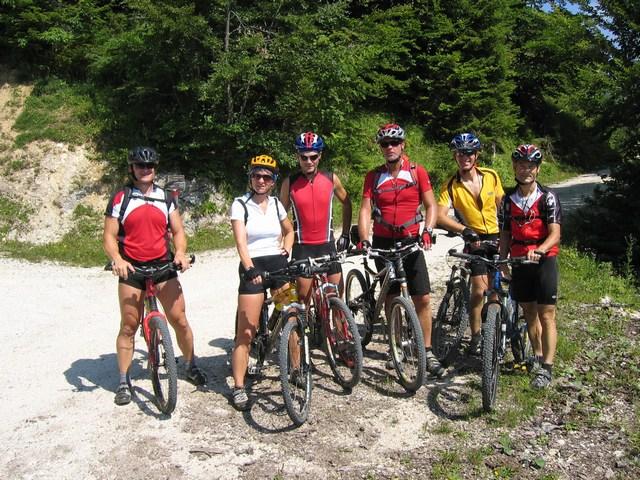 Foto: Jürgen Lindlbauer / Mountainbike Tour / Von der Postalm über die Thurnaualm nach Voglau und weiter auf die Pitscherbergalm / 22.07.2007 10:38:50