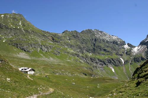 Foto: Lenswork.at / Ch. Streili / Wander Tour / Vom Göriachtal zum oberen Landawirsee / Landawirseehütte / 27.07.2007 15:20:03