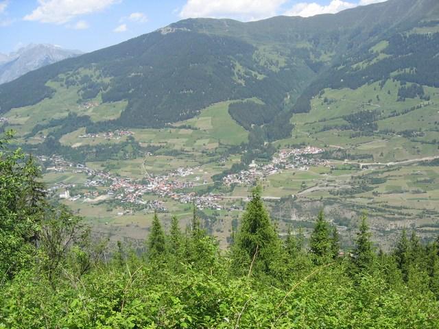 Foto: Jürgen Lindlbauer / Mountainbiketour / Große Schönjöchltour (2493m) über Kölner Haus / Ortschaft Fließ im Oberinntal / 29.07.2007 14:34:50