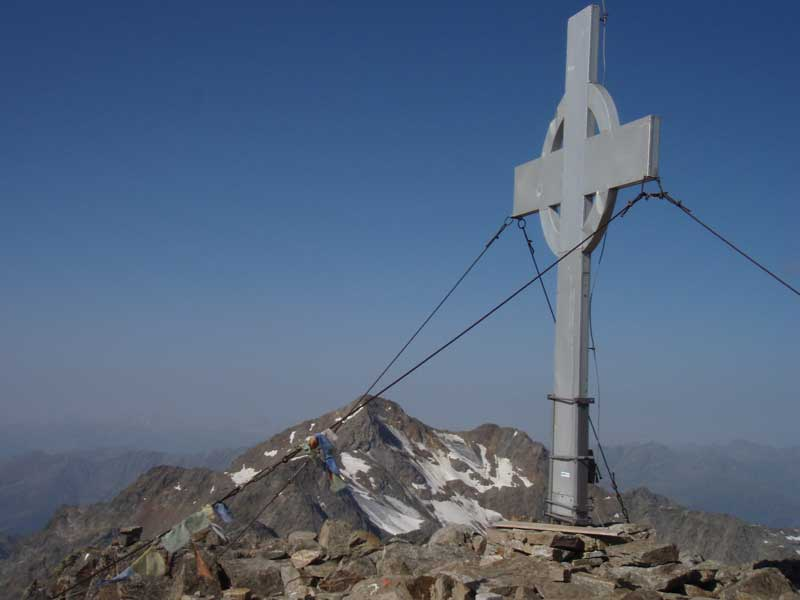 Foto: Grasberger Gerhard / Wander Tour / Durch das Debanttal auf den Glödis 3206m / Gipfel / 30.07.2007 09:50:50