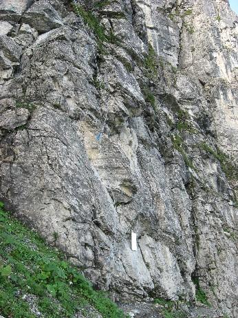 Foto: mucho / Klettersteig Tour / Gerlossteinwand / am Einstieg / 30.07.2007 10:41:34