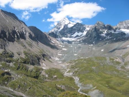 Foto: dobratsch11 / Wander Tour / Hütten Trekking in der Schobergruppe / Am Weg von der Salm Hütte zur Glorer Hütte / 05.08.2007 18:25:59