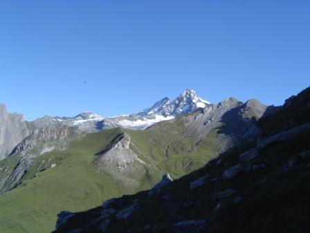 Foto: dobratsch11 / Wander Tour / Hütten Trekking in der Schobergruppe / am Wiener Höhenweg von der Glorer Hütte zum Bösen Weibl / 05.08.2007 18:28:15