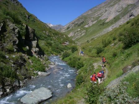 Foto: dobratsch11 / Wander Tour / Hütten Trekking in der Schobergruppe / Im Leitertal / 05.08.2007 18:23:39