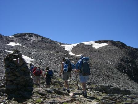 Foto: dobratsch11 / Wander Tour / Hütten Trekking in der Schobergruppe / der Tschadin Sattel / 05.08.2007 18:29:12