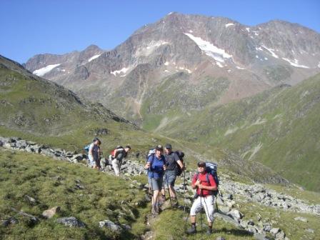 Foto: dobratsch11 / Wander Tour / Hütten Trekking in der Schobergruppe / am Weg zu den Langtal Seen / 05.08.2007 18:35:50