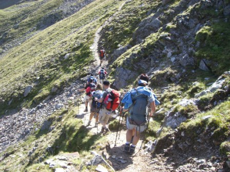 Foto: dobratsch11 / Wander Tour / Hütten Trekking in der Schobergruppe / am Weg zu den Langtal Seen / 05.08.2007 18:35:22