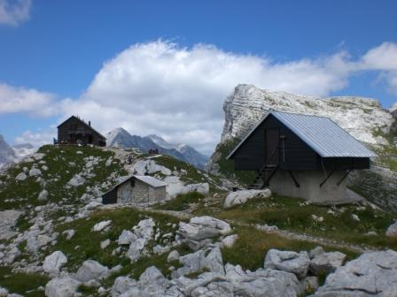 Foto: dobratsch11 / Wander Tour / Veliko Spicje / die Prehodavci Hütte / 05.08.2007 20:09:08