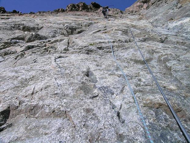 Foto: Andreas Koller / Wander Tour / Von der Franz Senn Hütte in die Wildgratscharte (3170 m) / Abstieg von der Wildgratscharte / 08.08.2007 13:45:34