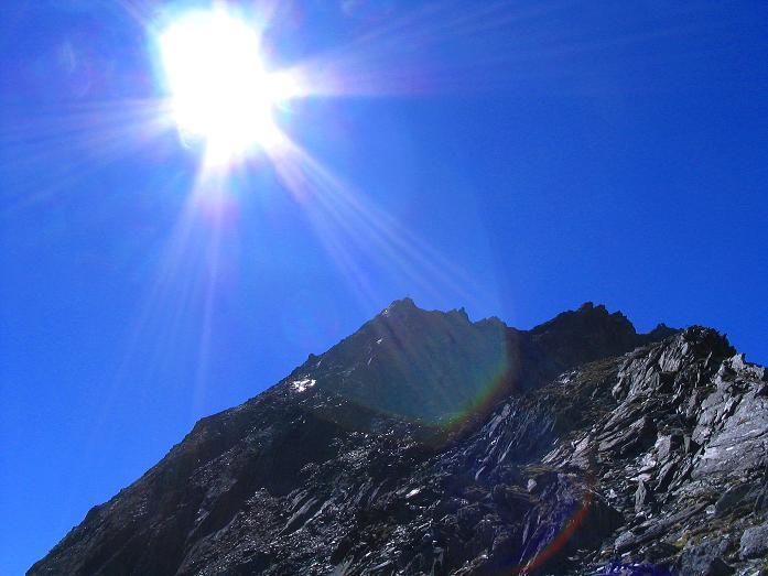 Foto: Andreas Koller / Klettersteig Tour / Klettersteig Mittaghorn (3144m) / Das Mittaghorn / 09.08.2007 10:27:27