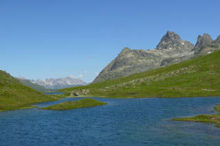 Foto: Tirol Werbung / Mountainbike Tour / Bike Trail Tirol Etappe Ischgl – St. Anton / 14.08.2007 08:36:16