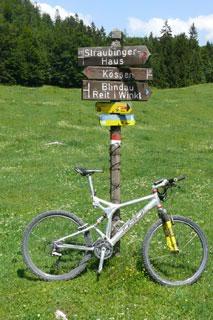 Foto: Tirol Werbung / Mountainbike Tour / Bike Trail Tirol Etappe Kössen - Kitzbühel / 14.08.2007 08:40:49