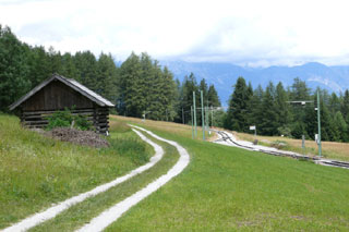 Foto: Tirol Werbung / Mountainbike Tour / Bike Trail Tirol Etappe Mieders - Mutters / 14.08.2007 08:57:43