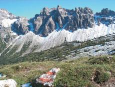 Foto: Tirol Werbung / Wander Tour / Adlerweg Etappe 57 - Bergeinsamkeit erleben / Krottenkoepfe / 13.08.2007 15:04:10