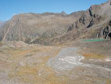 Foto: Tirol Werbung / Wander Tour / Adlerweg Etappe 65 - Wandern am Gletscherrand / 13.08.2007 15:20:02