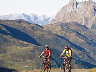 Foto: Tourismusbüro / Mountainbike Tour / Wildkogeltrail / 14.08.2007 16:23:54