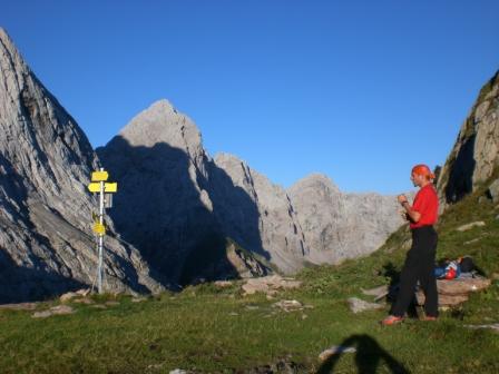 Foto: dobratsch11 / Klettersteig Tour / Weg der 26er / am Valentin Törl / 16.08.2007 21:33:21