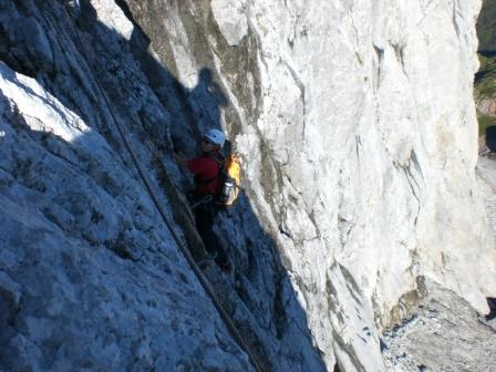 Foto: dobratsch11 / Klettersteig Tour / Weg der 26er / Weg der 26er / 16.08.2007 21:30:18