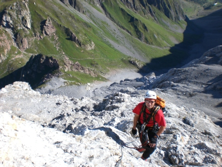 Foto: dobratsch11 / Klettersteig Tour / Weg der 26er / am Koban Brunner Weg / 16.08.2007 21:29:33