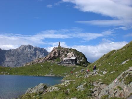 Foto: dobratsch11 / Klettersteig Tour / Weg der 26er / Wolayersee Hütte  / 16.08.2007 21:27:58