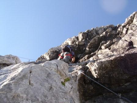 Foto: dobratsch11 / Klettersteig Tour / Weg der 26er / Weg der 26er / 16.08.2007 21:30:03