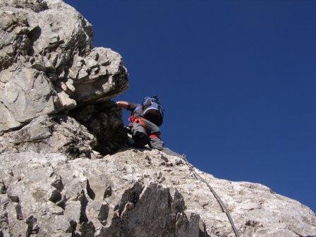 Foto: dobratsch11 / Klettersteig Tour / Weg der 26er / Weg der 26er / 16.08.2007 21:29:53